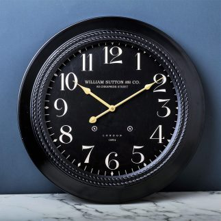שעון קיר – METAL