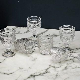 רביעיית/שישיית כוסות MILLIE – על רגל