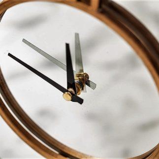 שעון שולחני זהב + מראה -KENZO