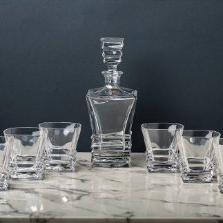 סט 6 כוסות וויסקי – ROCKY