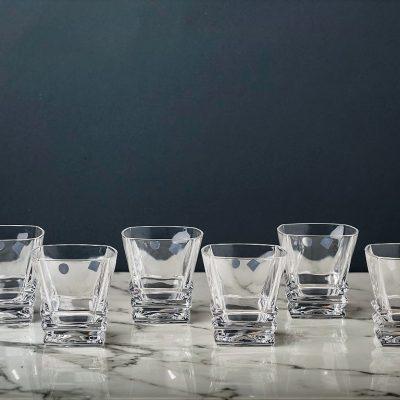 סט 6 כוסות וויסקי - ROCKY