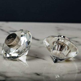 זוג מלחיות קריסטל – יהלום
