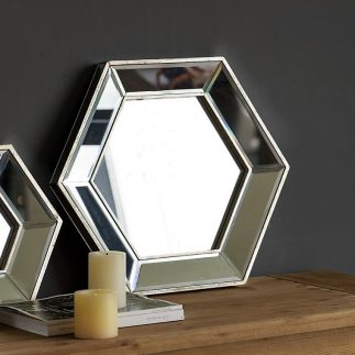 סדרת מראות HEXAGON – בצורת משושה