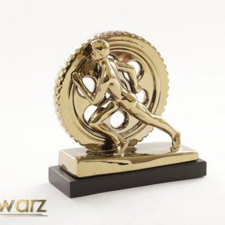 פסל CROSSFIT זהב/כסף
