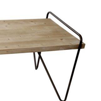 שולחן עץ מלבני – CLICK