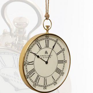 שעון קיר – FINE בשני צבעים זהב/כסף