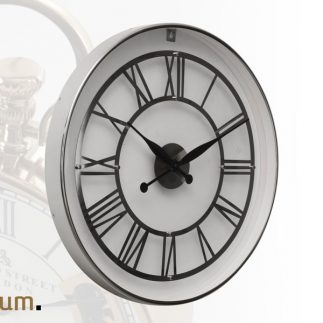 שעון יוקרה לקיר – BOOST בשני צבעים זהב/כסף