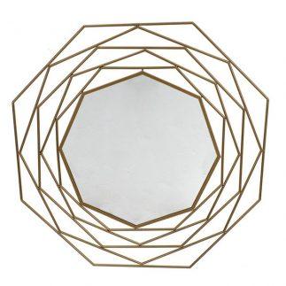 מראת פרח – זהב