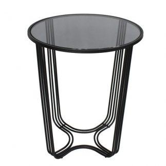 שולחן צד – SMASH – שחור
