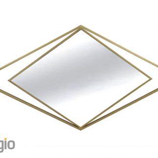 סדרת מראות יהלום – שחור/זהב
