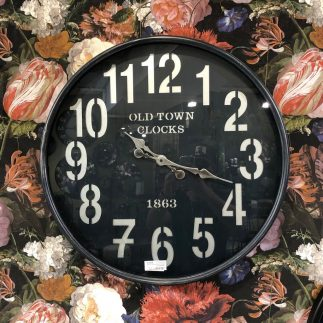 שעון קיר – OLD TOWN