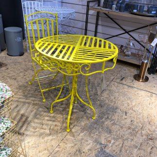 כיסא – U.S.A צהוב
