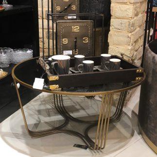 שולחן סלון – SMASH זהב