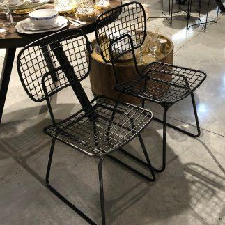 זוג כסאות מתכת – RIO
