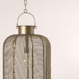 עששית לתלייה עם מנורת לד (סוללות) – PIPE