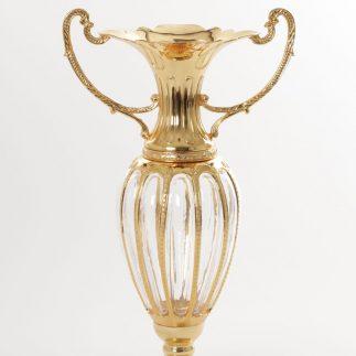 אגרטל פיוטר-  זהב מבריק/זהב עתיק