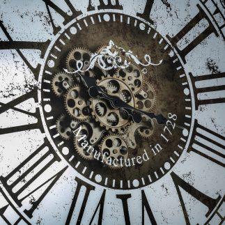 שעון יוקרה ענק לקיר- WILLIAM