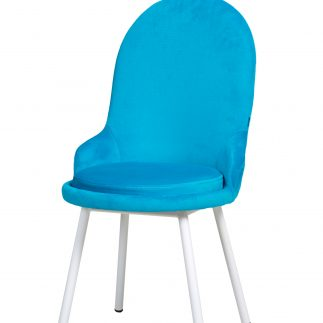 כיסא קטיפה -ANGEL -טורקיז