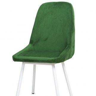 כיסא קטיפה – FAIRY – ירוק כהה