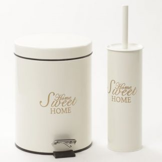 פח 5 ליטר + מברשת לשירותים – 4 צבעים!!!!