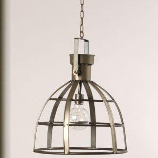 מנורת תקרה עם נורת לד (סוללות) – DOME