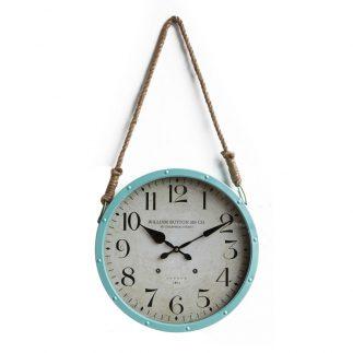 שעון רטרו עם חבל תלייה בשני צבעים