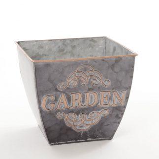 בית עציץ מרובע – GARDEN – בשני צבעים