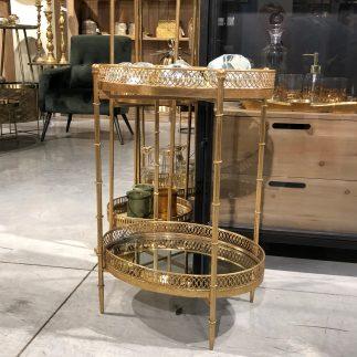 שולחן מגש 2 קומות – בינוני/ גדול