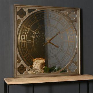 שעון יוקרה עצום (125X125) לקיר – HENRY