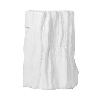 שולחן צד/הדום – WHITE WOOD