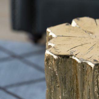 שולחן צד/הדום GOLDEN WOOD