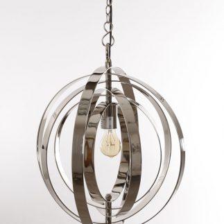 מנורת תקרה – SPHERE כסף
