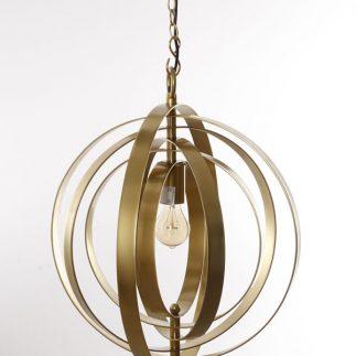 מנורת תקרה – SPHERE זהב/כסף