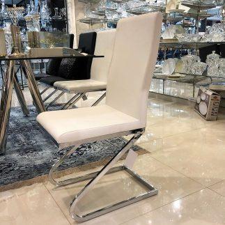 כסא PURE שחור/לבן