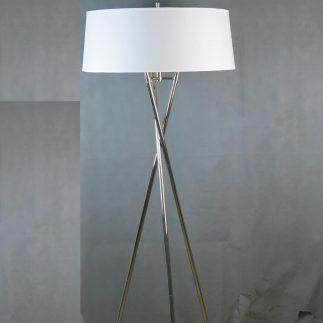 מנורה עומדת – CRISS CROSS כסף/זהב