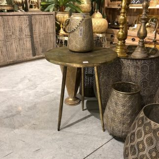 שולחן צד- זהב מושחר