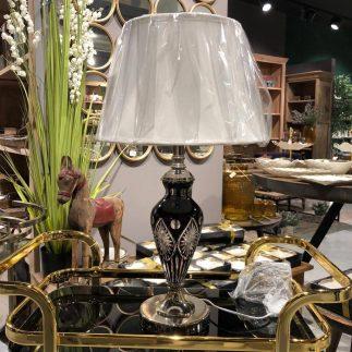 מנורה שולחנית – BLACK CRYSTAL