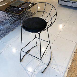 כיסא בר – BARCELONA שחור -שחור