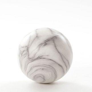 כדור דמוי שיש לנוי – בהיר/כהה