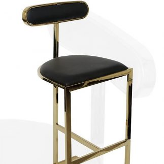 כיסא בר PICASSO – שחור