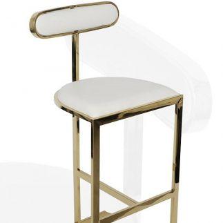 כיסא בר  PICASSO – לבן