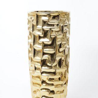 אגרטל – MAZE זהב/כסף בשני גדלים