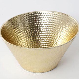 קערת הגשה ונוי – SNAKE 4.0 זהב/כסף