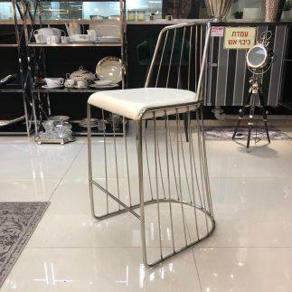 כיסא בר MOON – לבן