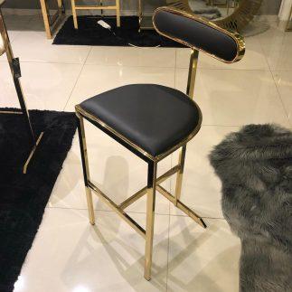 כיסא בר – PICASSO שחור
