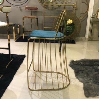 כיסא בר – STAR – טורקיז