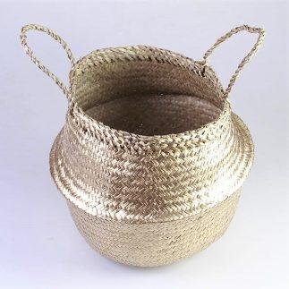 סל מעוצב בצבע זהב