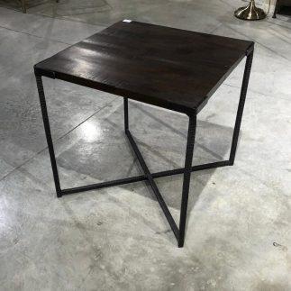 שולחן צד מרובע – DARK WOOD