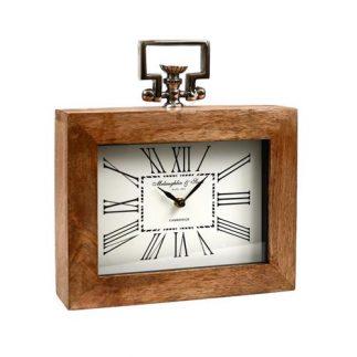 שעון מסגרת עץ – מלבני 2.0