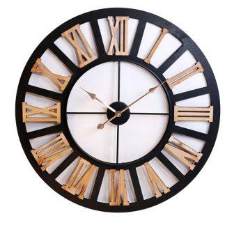 שעון עץ – ARI שחור בינוני/גדול